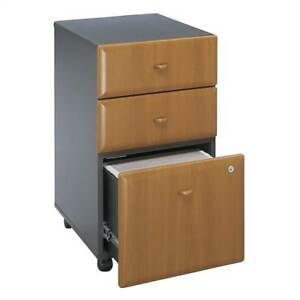 Cherry Colored 3 Drawer Filing Cabinet Series A id 2466