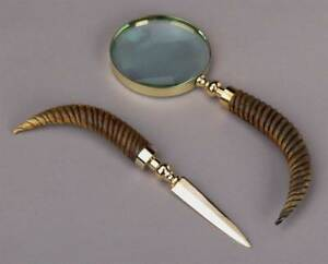 Unique Magnifying Glass Letter Opener Set id 21499