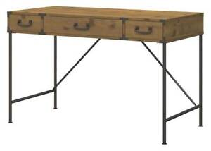 Writing Desk In Vintage Golden Pine Finish id 3493480