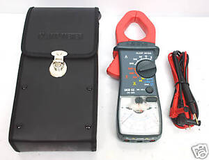 1pc Analog Clamp Meter Multitester De 380 Ac 300a Der Ee Taiwan Ac dc V A