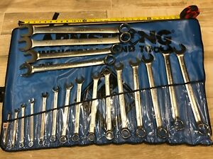 Armstrong Tools 19 Piece Sae Xl 12 Point Combination Wrench Set
