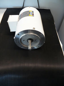 Leeson Electric Motor 115743 00 C6t11vk1c 1 2 Hp 1140 Rpm 3 ph 208 230 460 Volt