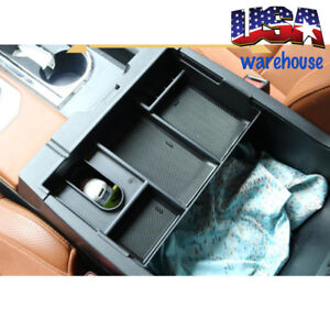 For Toyota Tundra 2014 2018 Center Console Organizer Armrest Storage Box Tray