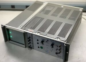 Tektronix 5110 O scope W Intergra Microwave Vts 103 Pr Vco read Full Ad