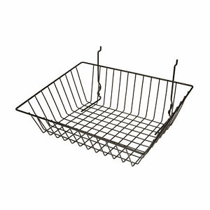 Econoco Multi Fit Sloping Pegboard Slatwall And Gridwall Bins And Baskets