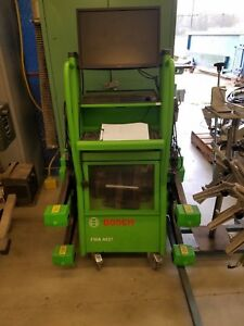 Bosch Wheel Alignment System Fwa 4437 Easy Align 3 d Imaging Aliment System