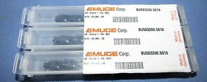 Emuge Standard Taps 3 Flute 5 16 18 Unc Black Oxide Coated 3pcs Lot