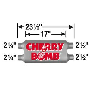 Cherry Bomb 88115cb Vortex Muffler New