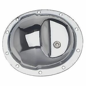 Trans dapt Performance Products 9033 Chrome Complete Differential Cover Kit
