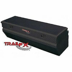 Trail Fx 150562 Tool Box Truck Chests Single Lid With Struts Powder Coated Black