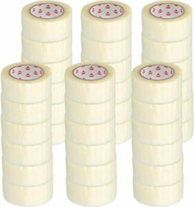 2 Inch X 110 Yards Clear Hotmelt Packing Tape 1 9 Mil Self Adhesive 1620 Rolls