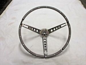 1965 1966 Mustang Deluxe Interior 15 Pony Steering Wheel