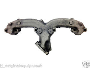 New Exhaust Manifold 283 327 350 Chevrolet Gmc Van Pickup Rh Side Angle Dump