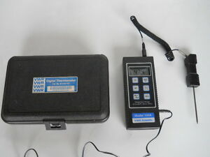 Used Vwr Thermometer Vwr 61220 157 40 To 150 C