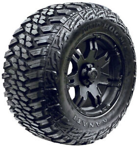 37x12 50r17 Kanati Mud Hog M t Mud Tires New Lre 10ply set Of 4