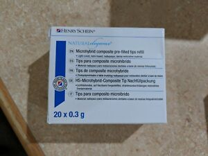30 Boxes Henry Schein Natural Elegance Microhybrid Composite Refill 20x0 3g New