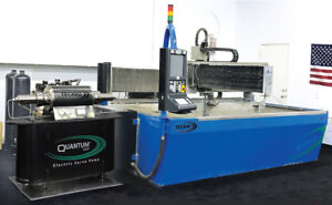 Techni Waterjet 2012 5 X 10 With 5 Axis Bevel Cutting Head