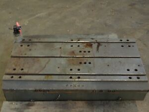 44 X 24 25 X 8 5 Steel T Slot Table Cast Iron Layout Weld Fixture_3 Slot