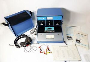 Vintage Zenith Hearing Aid Sales Corp Za 111a Portable Audiometer