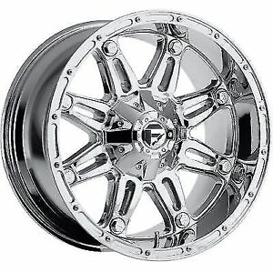 Mht Wheels D53020001745 20x10 Hostage 8x170 Chrome 4 50 24 125 2