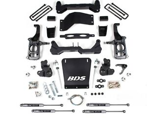 Bds Suspension 719h Lift Kit 4 1 2 For 11 19 Chevy 2500 Hd 2wd 4wd