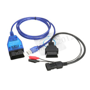 Vag Kkl Obd2 Usb Cable Ftdi Ft232 Chip 3 Pin Adapter Cable Fit Guzzidiag
