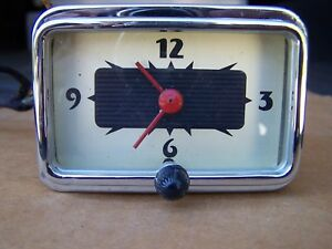 1940 Mercury Clock