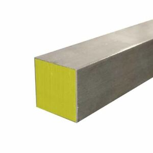 316 Stainless Steel Square Bar Size 1 500 1 1 2 Inch Length 12 Inches