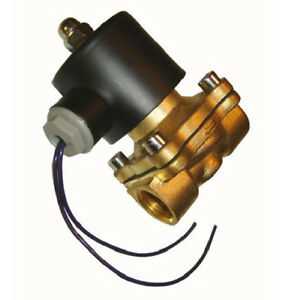 1 2 Electric Air Valve Solenoid For Train Horn And Air Suspension System