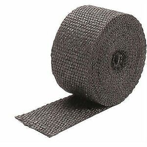 Design Engineering Inc 010099 Exhaust Wrap Black 2 Wide X 25 Roll