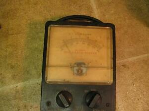 Vintage Snap On Mt400a Regulator Tester For Parts Or Repair
