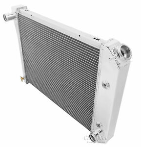1980 1981 1982 1983 1984 1985 Chevy Caprice Radiator Champion Aluminum 2 Row