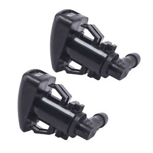 2pcs Windshield Washer Sprayer Nozzle For 2008 12 Ford Fusion Milan Mkz Us Stock