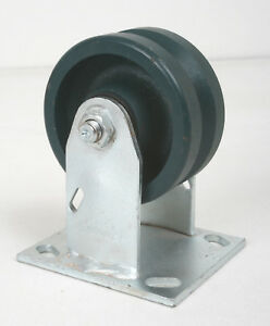 Encore 4 V groove Caster Wheel 4ser 2 Tread W Rigid Top Plate 3 4 Groove
