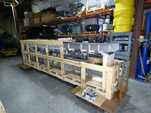 Vibratory Conveyor 200 X 15 New In Crate 30 Hz 3 16 Stainless Steel