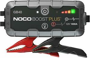 Noco Boost Plus Gb40 1000 Amp Portable Lithium Car Battery Jump Starter Up 6 Gas