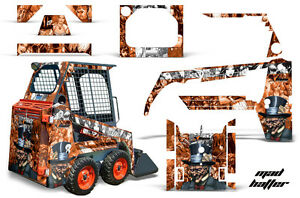 Graphics Kit Decal Wrap For Bobcat Skidsteer Mini Loader Skid Steer Hatter W O