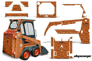 Graphics Kit Decal Wrap For Bobcat Skidsteer Mini Loader Skid Steer Digicamo Org