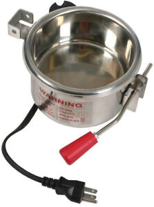 Great Northern 6 Oz Popcorn Kettle For Popcorn Machines Stainless Steel