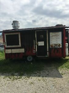 2014 8 X 16 Food Concession Trailer For Sale In Ohio