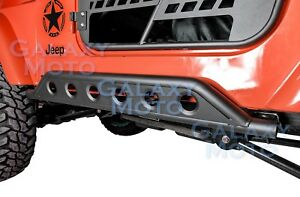 Extreme Rock Crawler Side Armor Rocker Slider Guard For 97 06 Jeep Wrangler Tj