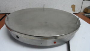 Hatco Grsr 15 Stainless Steel Round Heated Pizza Warmer