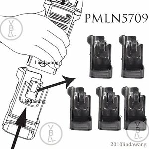 5x Pmln7901 Universal Carry Holder Case For Motorola Apx8000 Portable Radio