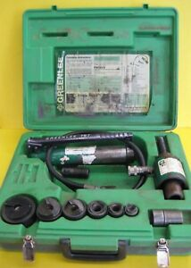 Greenlee Hydraulic Knockout Punch Driver Mod 7646
