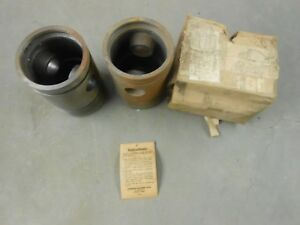 Nos Johnson High Compression Standard John Deere Unstyled A Pistons Tractor