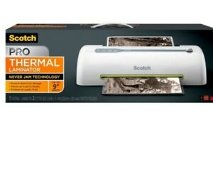 Scotch Pro Thermal Laminator Never Jam Technology Automatically Prevents Misfeed