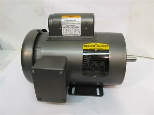 Baldor Cl3510 1 Hp Electric Motor 115 230 Volts 1 Phase
