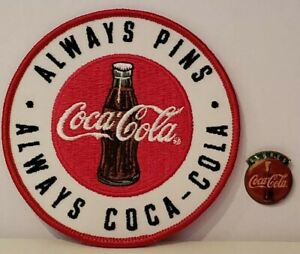 Coca Cola Pin Badge Coca Cola Always Lapel Pin & Always Coca-Cola Label Pin