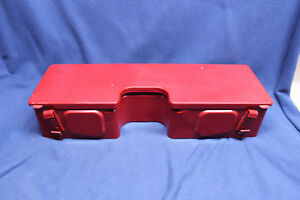 Light Bar Mounted Tool Box With Lid For Case ih Tractor Models