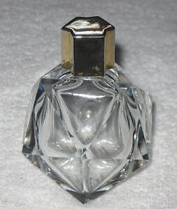 Vintage Houbigant Perfume Bottle Baccarat Numbered Essence Rare 2 Oz
